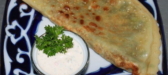 Гезлеме (турецкая лепешка) рецепт – турецкая кухня ...