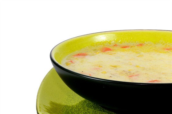 Суп картофельный с кукурузой по-румынски