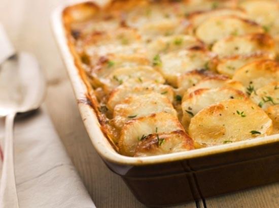 Запеченный картофель по-французски (La kartofel')
