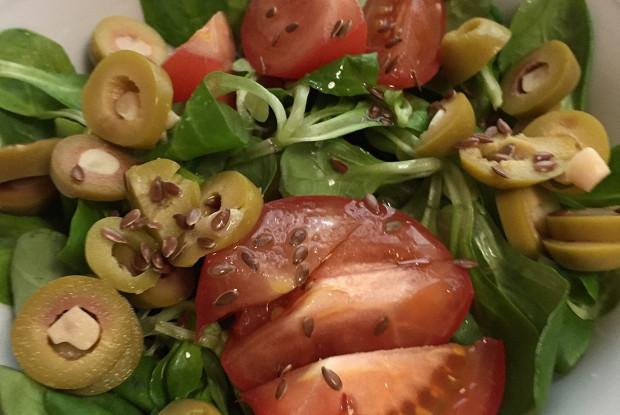Легкий салат корн