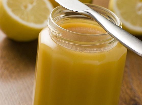 Лимонный творог