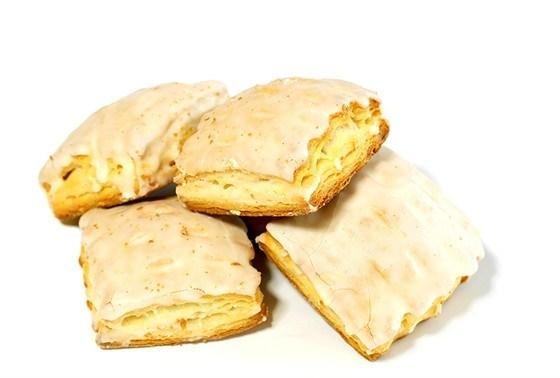 Бисквиты в лимонной глазури