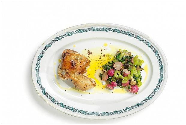 Курица в кленовом сиропе