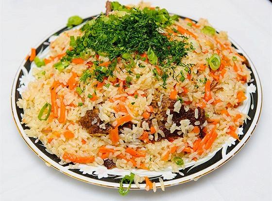 Узбекский плов с бараньим салом