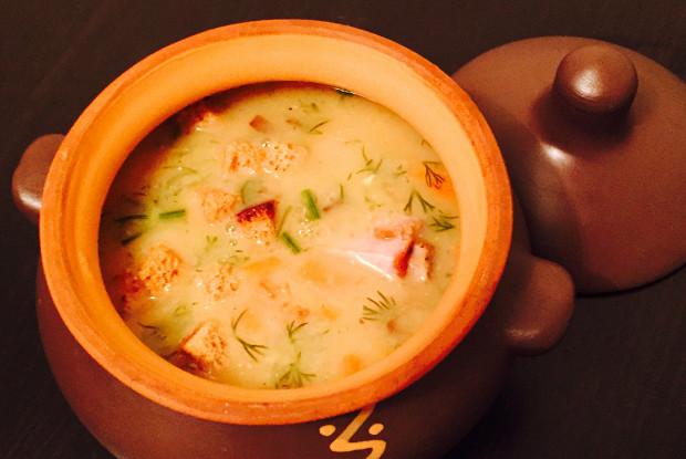 Гороховый суп на свиных ребрах