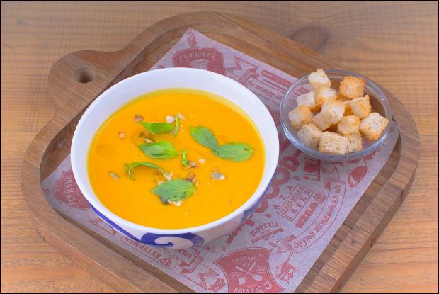 Суп - крем из тыквы