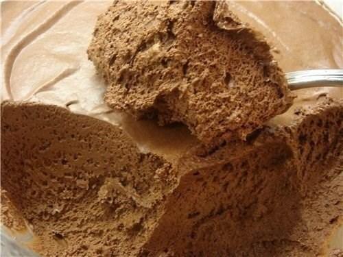 Шоколадное суфле на основе обезжиренного творога