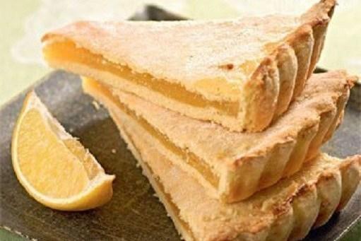 Лимонный нежный пирог
