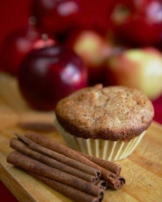 Маффины с яблоками и корицей