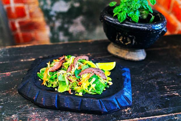Биф-салат
