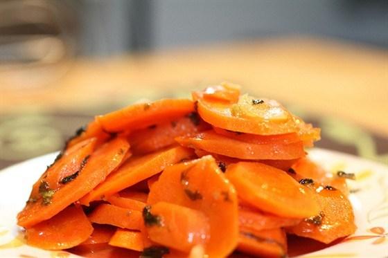 Ароматная морковь в специях по-африкански