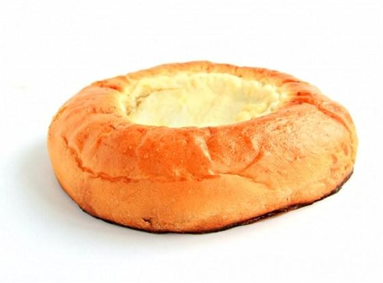 Пирожки с сырным фондю