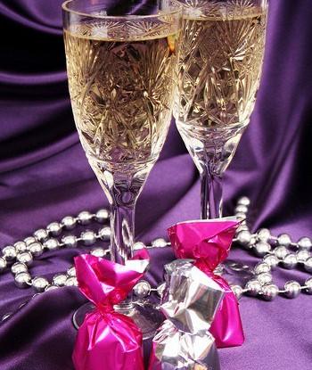 Лавандовое шампанское