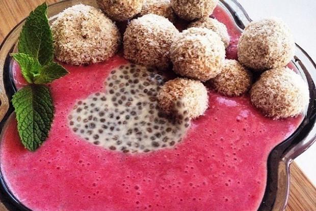 Сыроедческое кокосовое печенье
