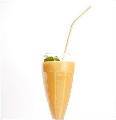Абрикосовый коктейль с миндалем
