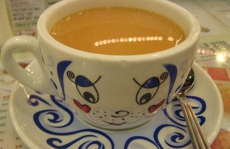 Зеленый чай на молоке