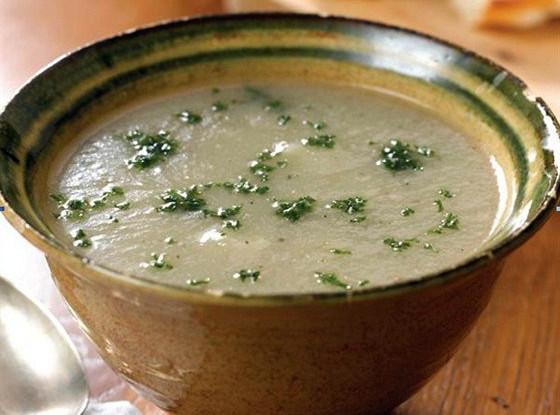 Суп из цветной капусты с чили