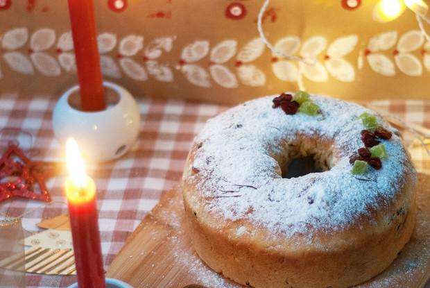 Традиционный рождественский штоллен