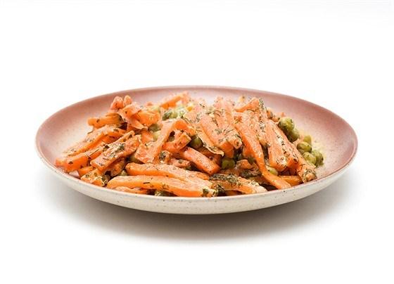 Карамелизованная жареная морковь с кумином