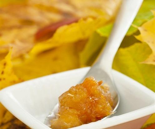 Мармелад из тыквы и ревеня на сахарине