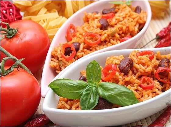 Рис по-мексикански с фасолью