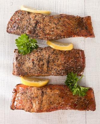Маринованный лосось в мисо и саке (Misoyaki salmon)