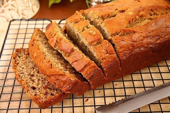 Банановый хлеб с цедрой