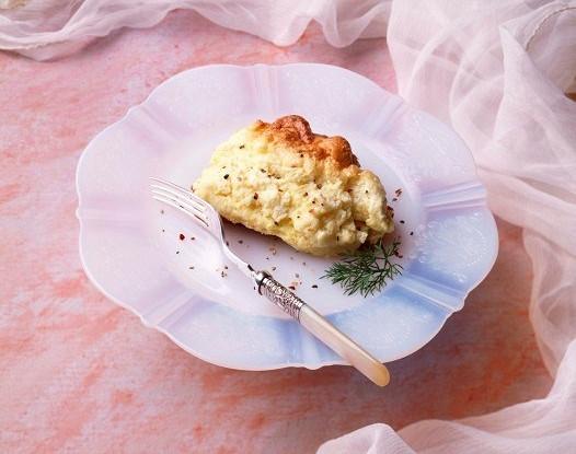 Омлет-суфле с петрушкой и сыром