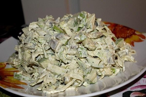 Салат из сельди скандинавский с капустой
