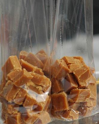 Нежная арахисовая помадка