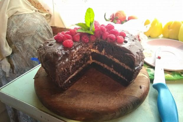 Самый шоколадный торт в мультиварке