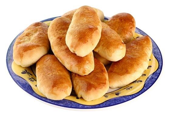 Пирожки с луком-пореем