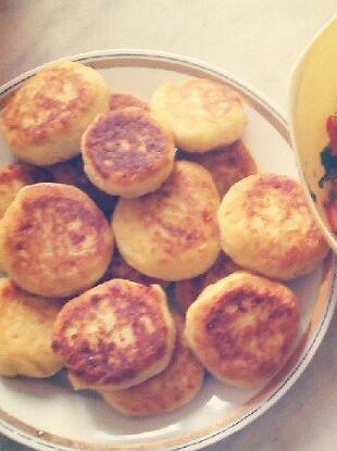 Сырные шарики с картофелем