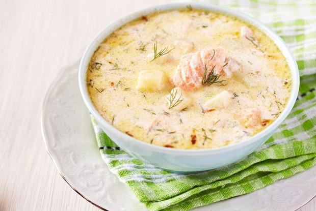 Финский рыбный суп (Kalakeitto)