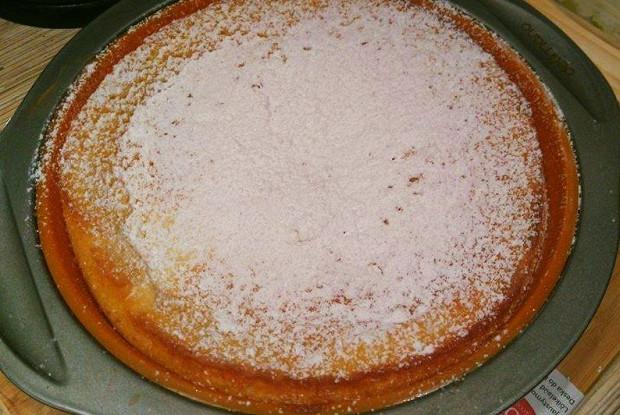 Пирог с лимоном и сыром Филадельфия