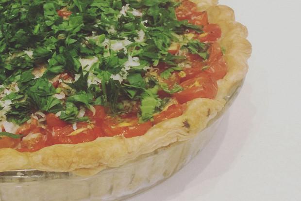 Итальянский томатный пирог