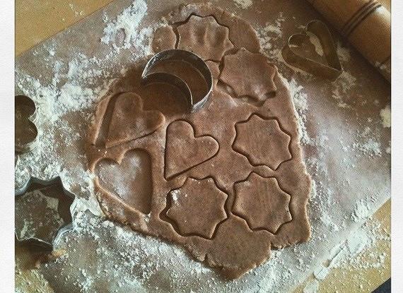 Имбирное печенье с пряностями