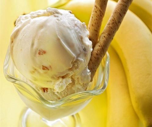 Банановое мороженое с ликером