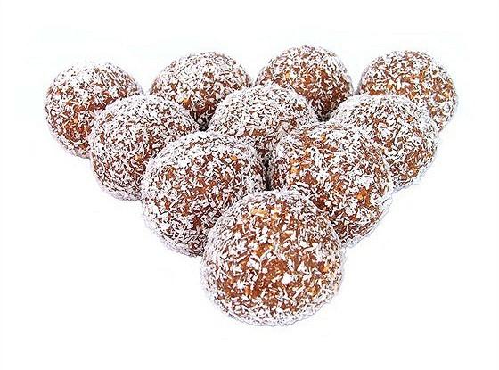 Шоколадные трюфели с карри и манго