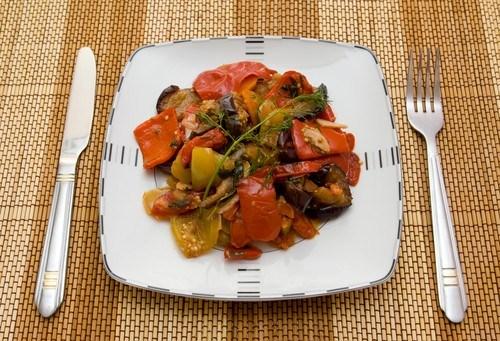 Летнее овощное рагу по-итальянски
