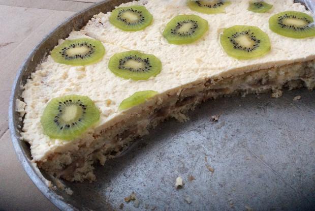 Банановый торт со сгущенкой «Воздушный»