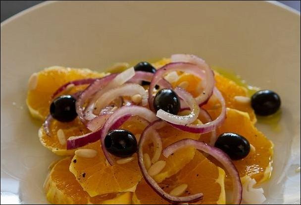 Сицилийский салат с апельсинами (Insalata di arance)