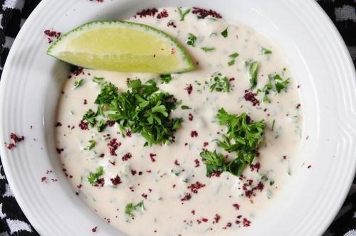 Пряный марокканский суп с нутом