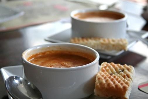 Суп из лобстера (Bisque d'homard)