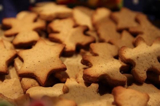 Ароматные имбирные печенья