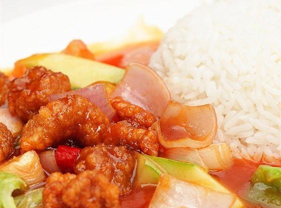 Кисло-сладкая свинина по-китайски