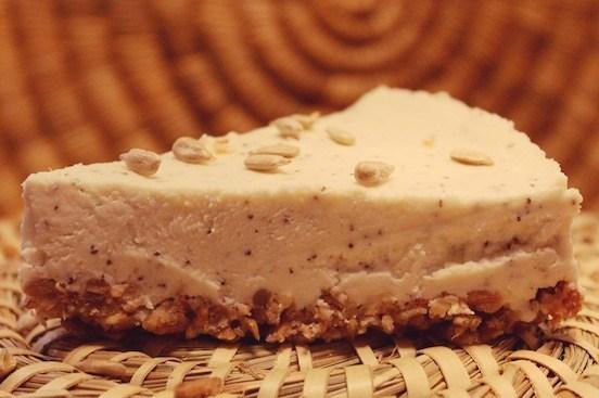 Овсяный пирог с творогом и маскарпоне