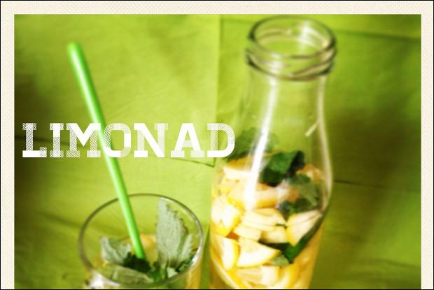 Лимонад на фруктозе с базиликом