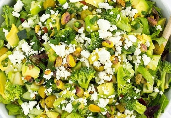 Самый зеленый салат