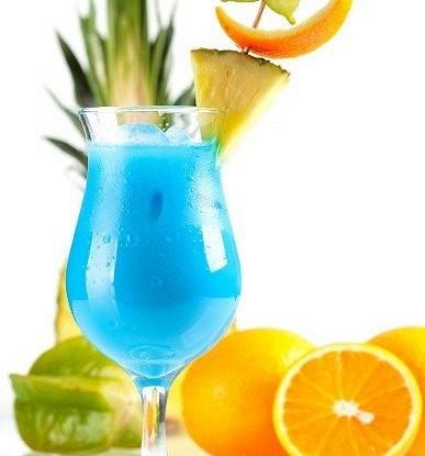 Напиток «Голубые Гавайи»